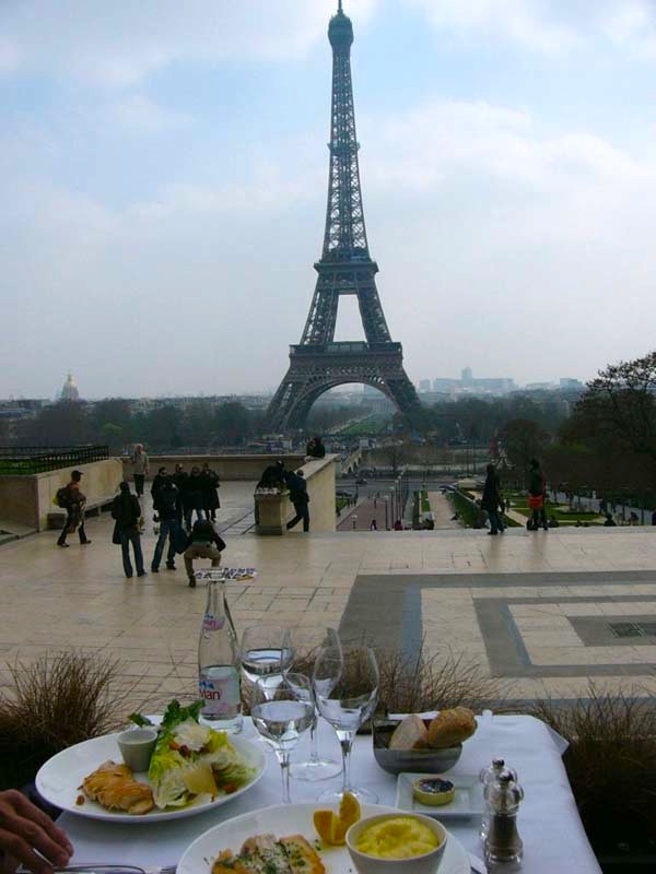 Restaurant Cafe De L Homme Paris