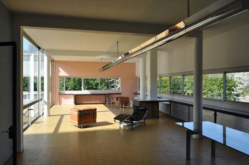 La villa savoye poissy france wishurhere - Le corbusier design style ...