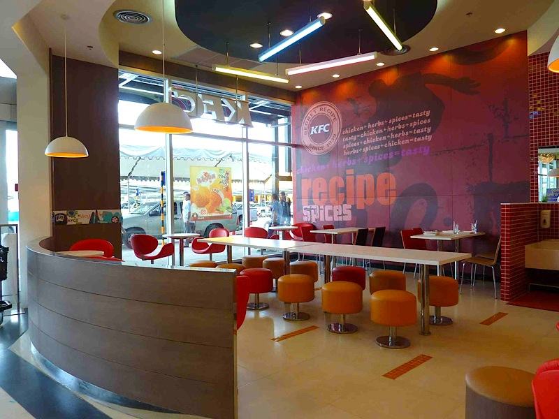 Kfc restaurant interior gallery