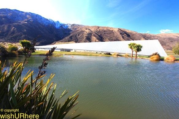 Peregrine Winery, Gibbston, Central Otago, New Zealand