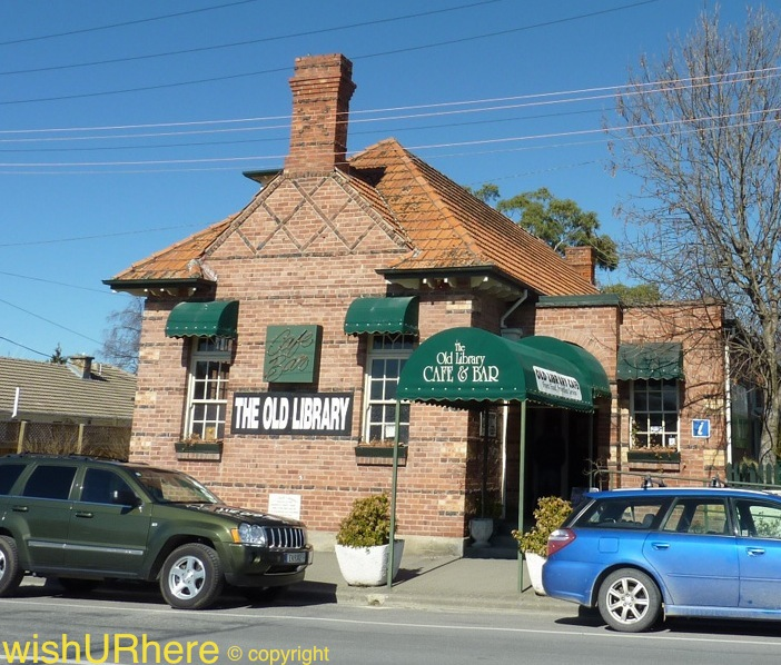Fairlie New Zealand  city pictures gallery : The Old Library, Fairlie, New Zealand | wishURhere