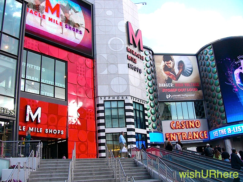Miracle Mile Shops, Las Vegas, USA | wishURhere
