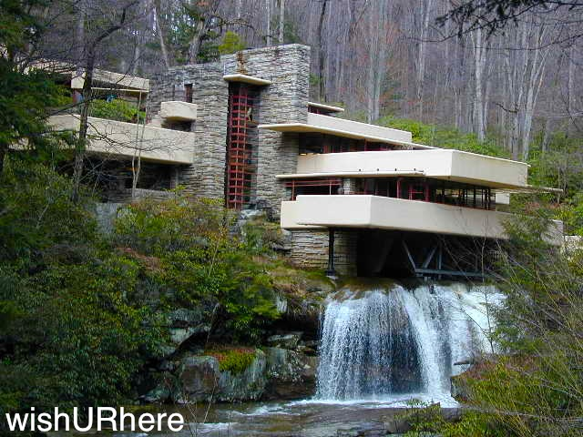 Falling Water Pennsylvania Usa Architect Frank Lloyd