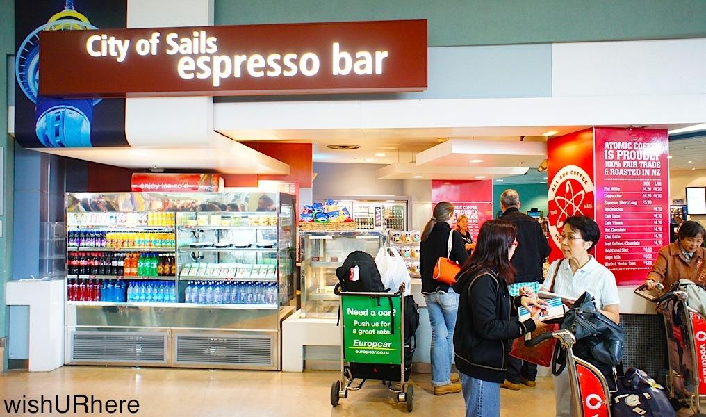 City Of Sails Espresso Bar Auckland Airport New Zealand Wishurhere