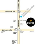 free Wifi JP bistro at Asoke Map