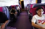 THAI B-777 Business Class Cabin
