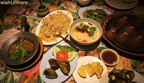 Pan Yaah Thai Restaurant Patong Phuket Set Dinner