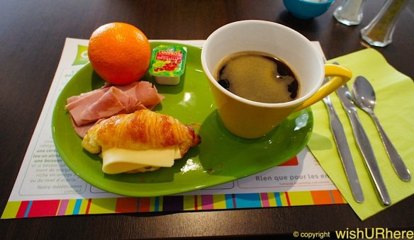 Breakfast at All Seasons Hotel Avignon Sud, France