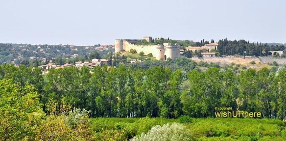 Avignon Castle France