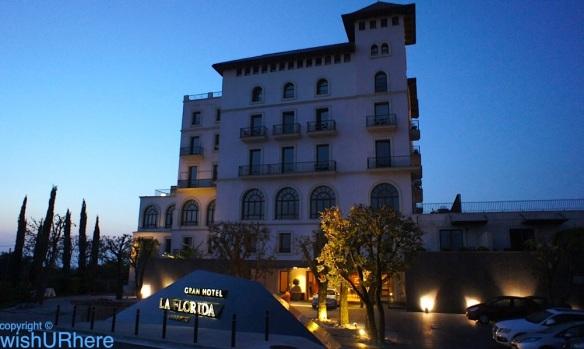 gran hotel la florida barcelona spain 5 star wishurhere. Black Bedroom Furniture Sets. Home Design Ideas