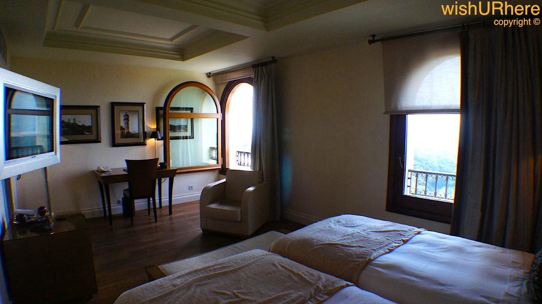 gran hotel la florida guest room barcelona spain. Black Bedroom Furniture Sets. Home Design Ideas