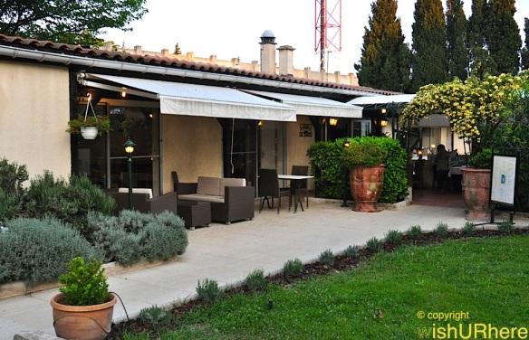 Breakfast at Logis Hotel Residence Les Cedres Avignon France