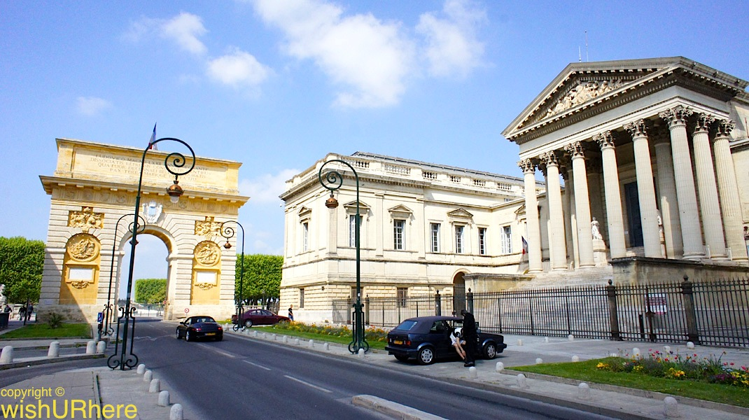 palais de justice montpellier france wishurhere. Black Bedroom Furniture Sets. Home Design Ideas