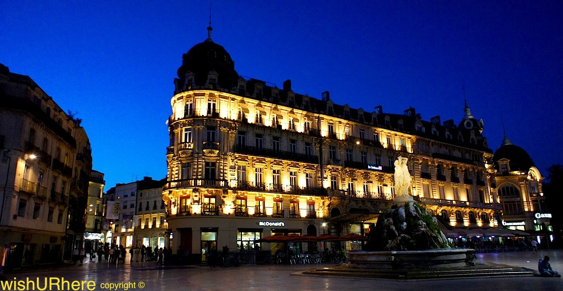place de la comedie montpellier france wishurhere. Black Bedroom Furniture Sets. Home Design Ideas