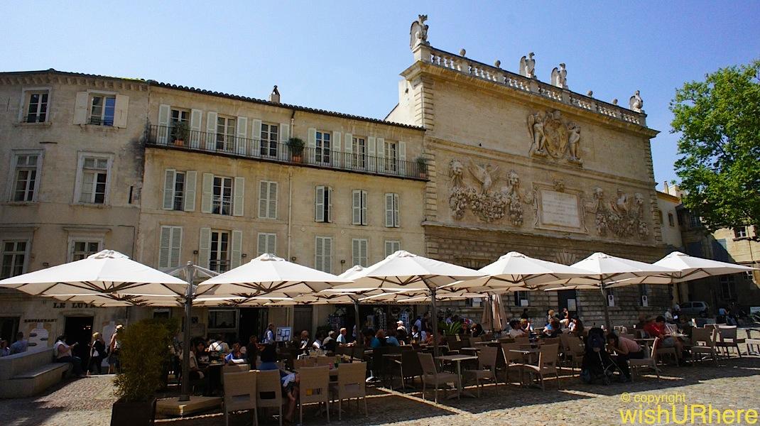 Place de l horloge avignon france wishurhere for Hotel design avignon