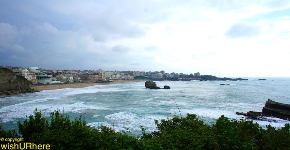 Biarritz seen from Pointe Saint-Martin