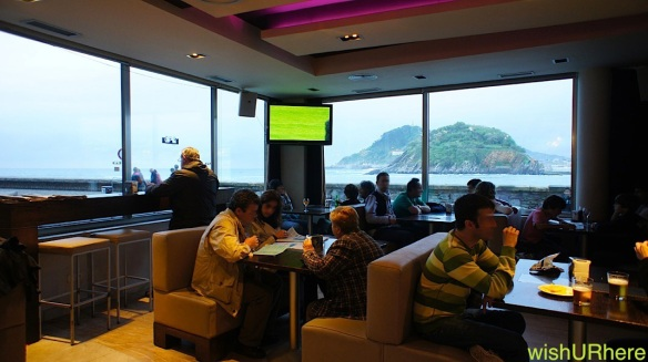 Enjoy the view at Branka, Chillada, San Sebastian Spain