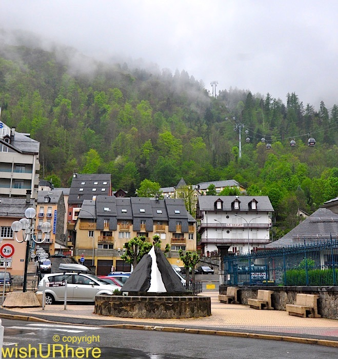 Cauterets France  city pictures gallery : Cauterets France 932m . Located 32km 20miles from Lourdes, this ...