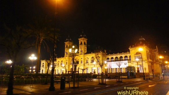 City Hall San Sebastian Night
