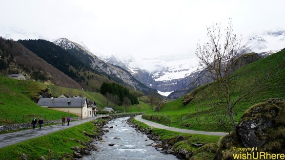 Walking in Gavarnie Pyrenees France