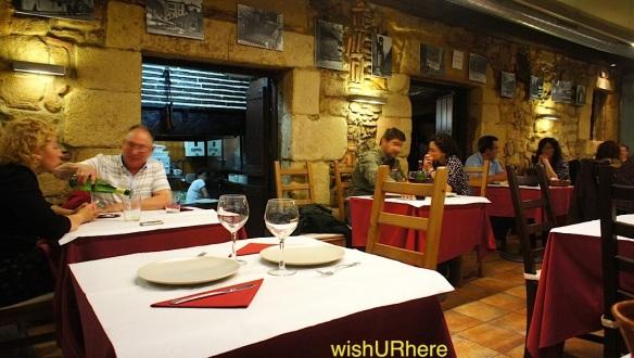 La Cueva Restaurant Vielle Ville San Sebastian