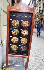 Paellador Parte Vieja San Sebastian Spain