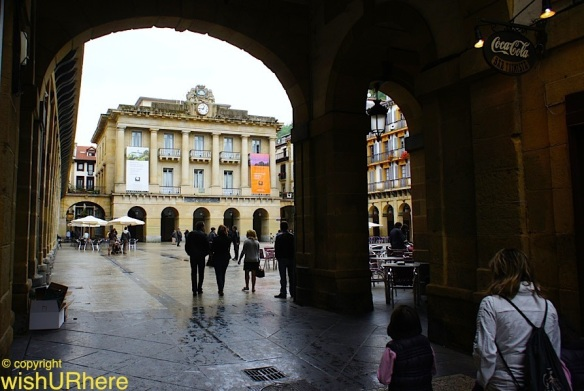 Place de la Constitucion Square San Sebastian