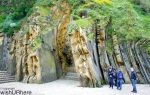 Rock Formation at Paseo de Eduaardo Chillada San Sebastian Spain