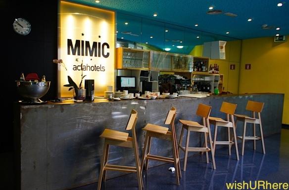 Acta Mimic Hotel Barcelona -Bar