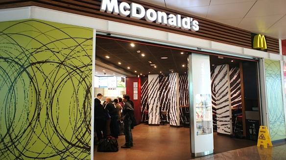 McDonald's Barcelona Airport Terminal 1 (BCN) Spain