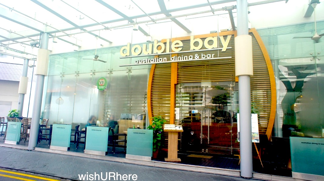 Double bay australian restaurant singapore wishurhere for Australian cuisine singapore