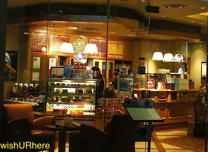 Coffee bean outlets singapore