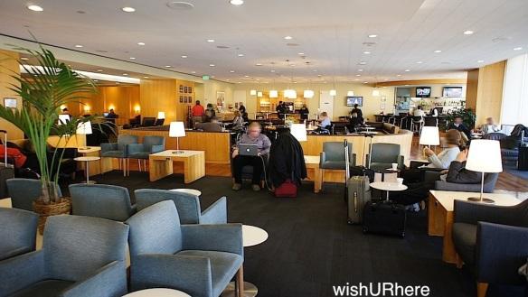 United Red Carpet Club LAX Terminal 7 WishURhere