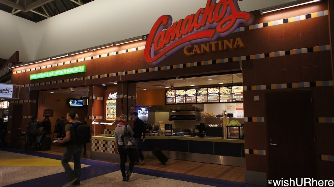 food outlets at los angeles airport terminal lax