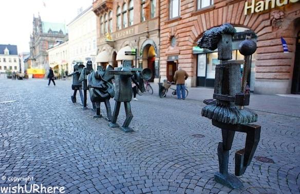 Sculpture in Malmo