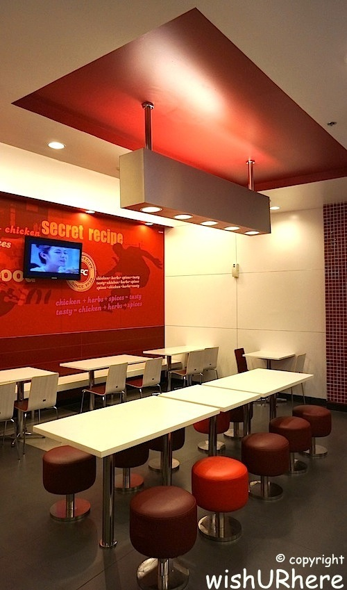 Kfc interior design wishurhere