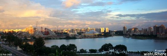 New Singapore Sports Hub Feb 2013