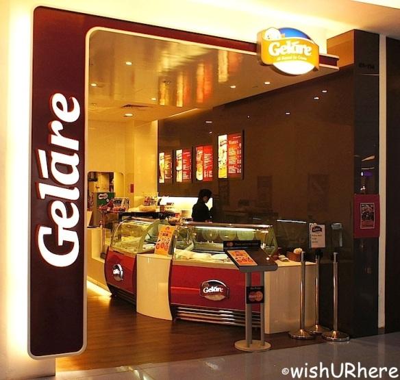 Gelare Cafe, VivoCity