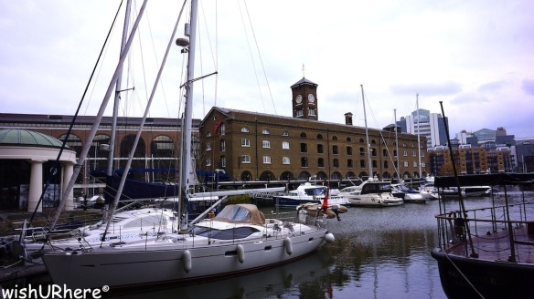 St Katharine Docks London