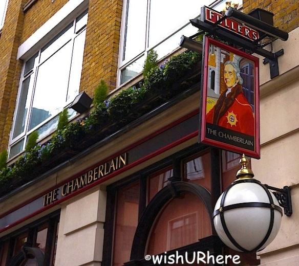 The Chamberlain Hotel Bar London
