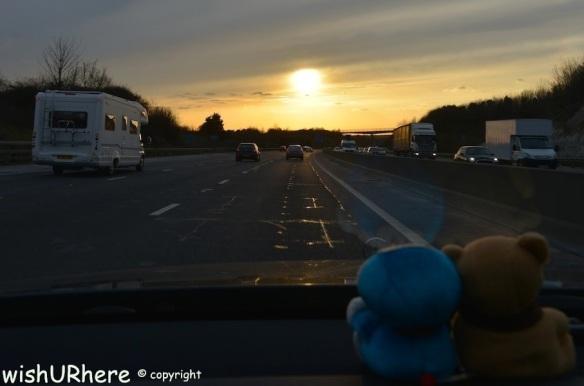 Driving to Salisbury