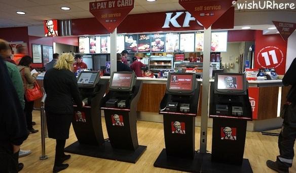 KFC self order kiosk