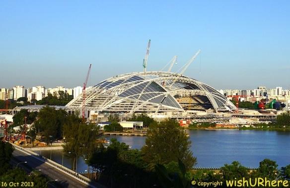 Singapore Sports Hub 16-10-13
