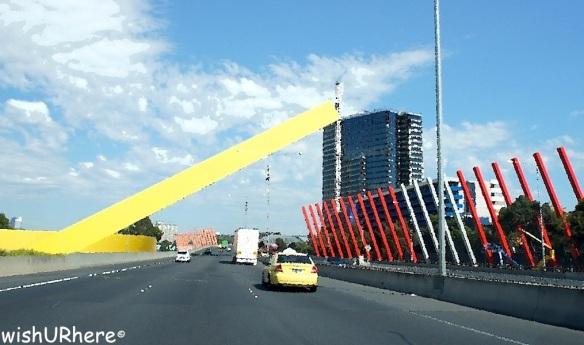 Entering Melbourne
