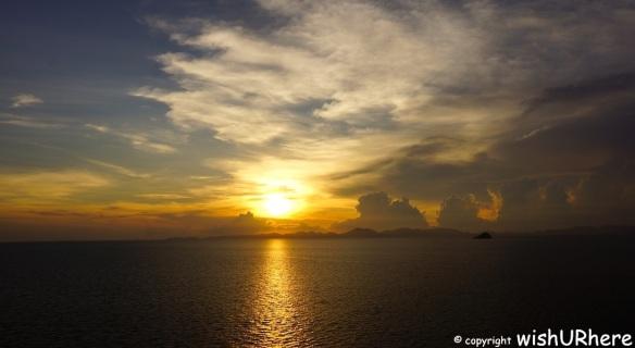 Star Cruise Sunset