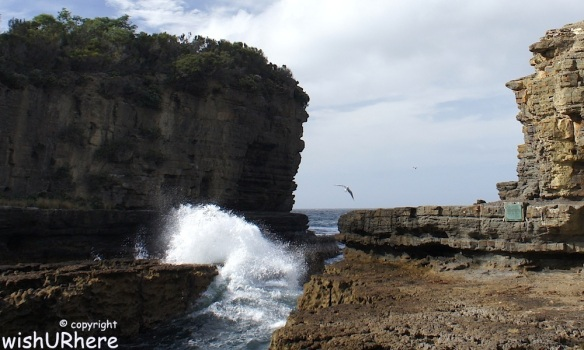 Eaglehawk Neck Blowhole