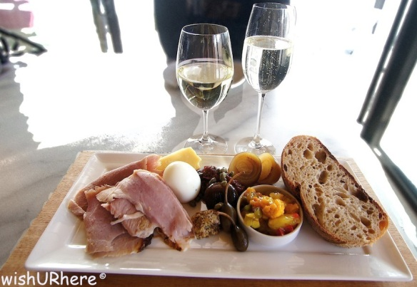Lunch at Mona Hobart