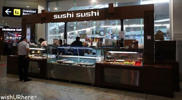 Sushi Susshi Melbourne Airport