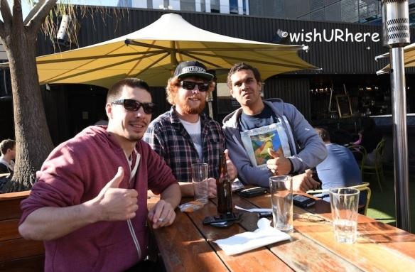 Tim, Marshell and Jones