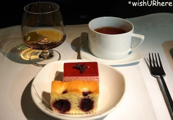 Sour Cherry:Rasspberry Cream Cake